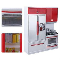 Girl Kids Plastic Kitchen Toy Toddler Role Play Cooking Kitc