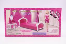 Girl's Favorite/Gloria Bedroom & Make-up Table Play Set