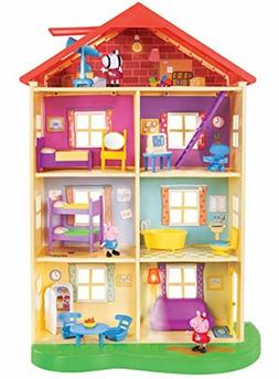 Girl Toys Gifts Year Old Peppa Pig House Game Box Equipment