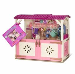 Girls Toys Age 3 4 5 6 Stable Set Accessories For 14 Inch Do