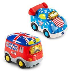 VTech Go! Go! Smart Wheels National Flag Vehicles 2-Pack