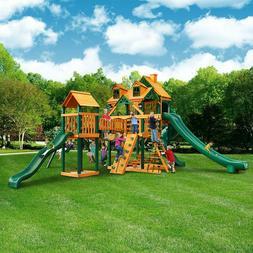 gorilla outdoor swing playset backyard playground scoop