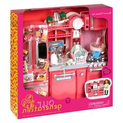 """Our Generation Gourmet Kitchen Set for 18"""" Doll"""