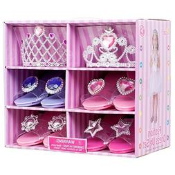 Blue Green Novelty Great Girls Play Set! Princess Dress Up &
