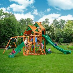 Gorilla Playsets Great Skye II Swing Set w/ Amber Posts
