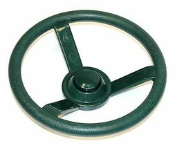 Eastern Jungle Gym Green Plastic Steering Wheel Swing Set Ac