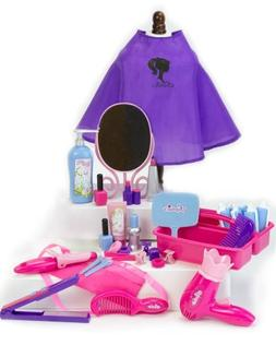 Sophia's Hair Salon Set for Dolls with Hair Clips, Curling I