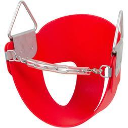 Swing Set Stuff Half Bucket Swing Seat with SSS Logo Sticker