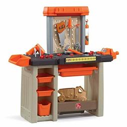 Step2 Handyman Workbench Kids Tool Bench, Orange