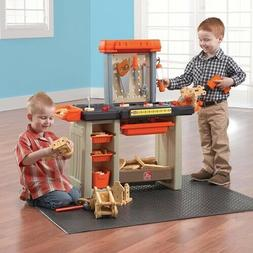 Step2 Handyman Workbench Kids Play Indoor Outdoor Toddlers 3