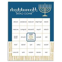 Big Dot of Happiness Happy Hanukkah - Chanukah Game Bingo Ca