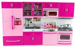 My Happy Kitchen Full Deluxe Kit Battery Operated Toy Doll K