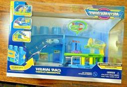 Hasbro Micro Machines Car Wash Expanding Playset Rare New 20
