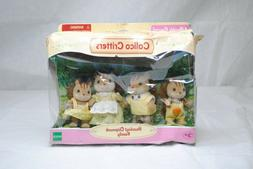 Calico Critters Hazelnut Chipmunk Family Set of 4 Dolls for