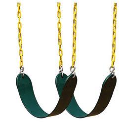 2 Pack Heavy Duty Swing Seat Swing Set Accessories Swing Sea