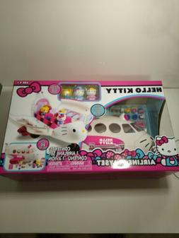Hello Kitty by Sanrio Airline Playset / Set Includes 20 Piec