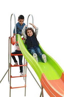 PLATPORTS Home Playground Equipment: 10' Indoor/Outdoor Wavy
