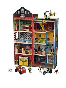 Hometown Heroes Wooden Play Set 24 Pieces, Makes Siren Sound