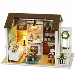 DIY Miniature House 3D Wooden Puzzle Playset-Home Decor for