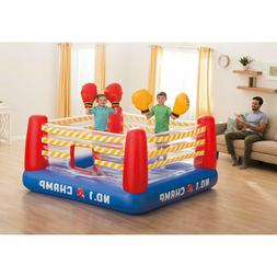 Indoor Bounce House For Kids Air Bouncer Inflatable Boxing R