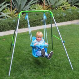 indoor outdoor toddler swing set fun play