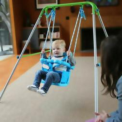Indoor Outdoor Toddler Swing Set Fun Play Baby Toy Swingset