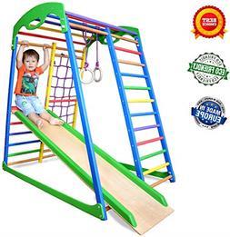 Indoor Playground Toddler Climber Slide – Kids Jungle Gym