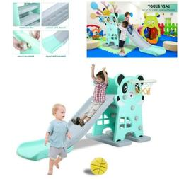 Indoor Slide for Kid Outdoor Play Set Backyard Climber Playg