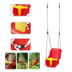 Infant to Toddler Baby Swing Set Secure Detachable Outdoor P