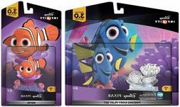 Disney Infinity 3.0 Finding Dory Play Set & Nemo Figure Toy
