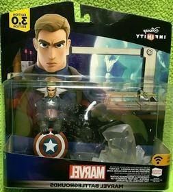 Disney Infinity Play Set & Captain America 3.0 Edition Marve
