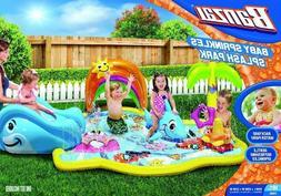 Inflatable Water Park Backyard Play Set Pool Slide Shark Wha