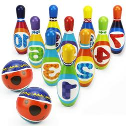 Kids Bowling Play Set, ,gift toys for 2,3,4,5 year old boy g