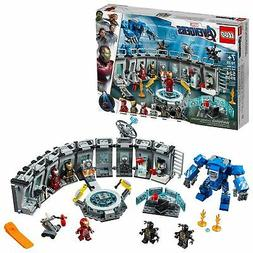 Iron Man Hall of Armor Play Set by LEGO Marvel Avengers Free