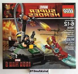 LEGO Iron Man: Detroit Steel Strikes Set 76077 NEW Sealed