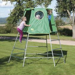 Jungle Gym Backyard Outdoor Play Set Kids Play House Tent Cl