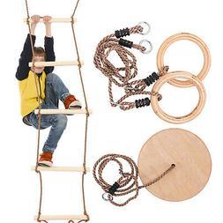 jungle swing set kids play set ninja