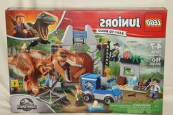 LEGO Juniors Jurassic World T Rex Breakout Building Play Set