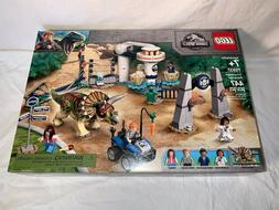 Jurassic World LEGO 75937 TriCeratops Rampage play set NEW S