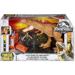 Jurassic World Destruct-A-Saurs Tyrannosaurus Rex Ambush Jur
