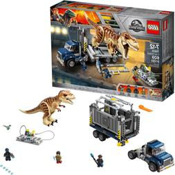 LEGO Jurassic World T. rex Transport 75933 Dinosaur Play Set