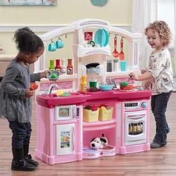 Kid Kitchen Ultimate Large Kitchen Toy Cooking Pretend Toddl