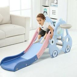 Kid Play Set Slide First Climber Toddler Indoor/Outdoor Gym