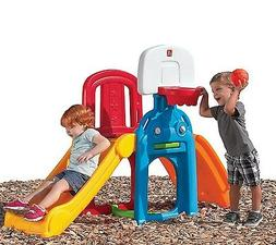 Kid Slide Playground Climber Playset Backyard Patio Toy Todd