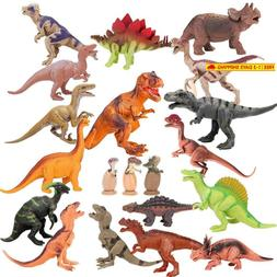 Kids 20 Packs Dinosaurs Toy Play Set For Toddlers, Boys Educ