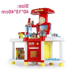 Kids Children Pretend Kitchen Play Set Toy Food Cooking Toys