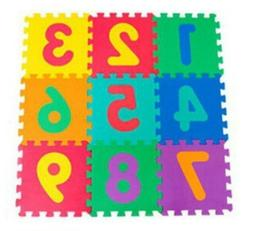 Kids Foam Outdoor Garden Hopscotch Floor Play Set Mats Pad A