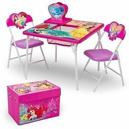 Delta Children 4-Piece Kids Furniture Set , Disney Princess