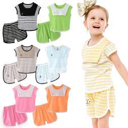 Vaenait Baby Kids Girls Boys Clothes Short Sleepwear Outfit