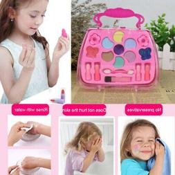 Girls Princess Makeup Set Cosmetics Bag Kids Beauty Pretend